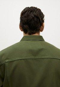 Mango - Denim jacket - khaki - 5
