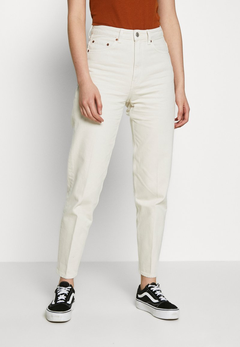 Weekday - LASH - Jeans relaxed fit - white dusty light