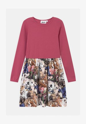 CREDENCE - Jersey dress - multi-coloured