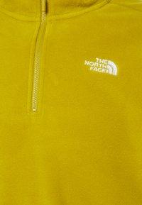 The North Face - MENS GLACIER 1/4 ZIP - Felpa in pile - matcha green - 2