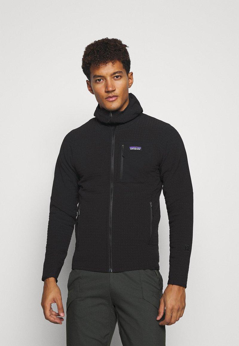 Patagonia - TECHFACE HOODY - Fleece jacket - black
