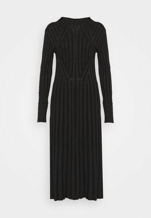 STINA - Vestito lungo - black