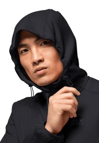 Jack Wolfskin - Soft shell jacket - black - 2