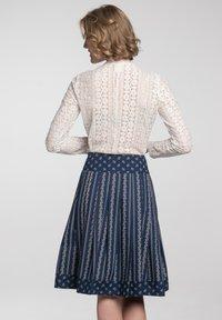 Spieth & Wensky - SCHATZ - A-line skirt - blau - 3