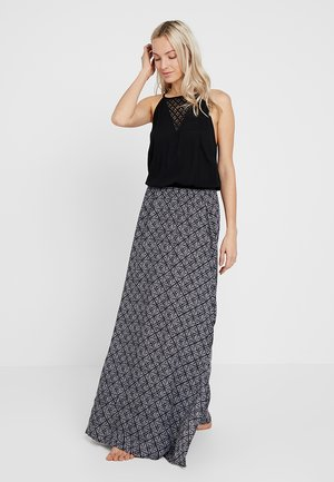 INFUSION MAXI DRESS - Beach accessory - black