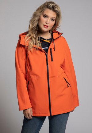 Soft shell jacket - manderine