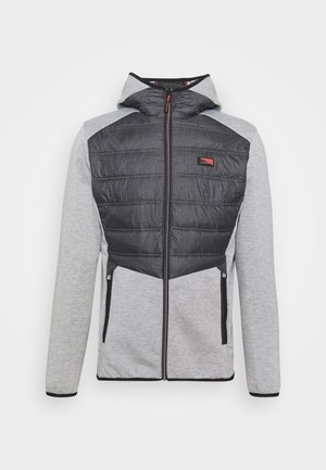 JCOTOBY HYBRID JACKET - Sportovní bunda - light grey melange