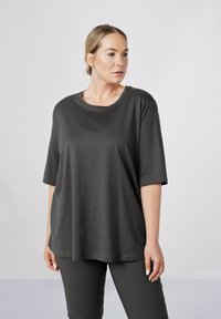 Sallie Sahne - MILY - Basic T-shirt - graphite - 0