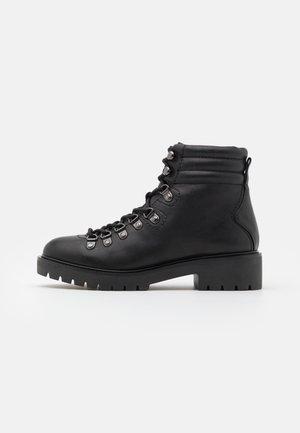 GRIDDLE - Lace-up ankle boots - noir