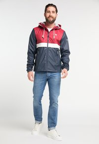 Schmuddelwedda - Waterproof jacket - red/marine - 1