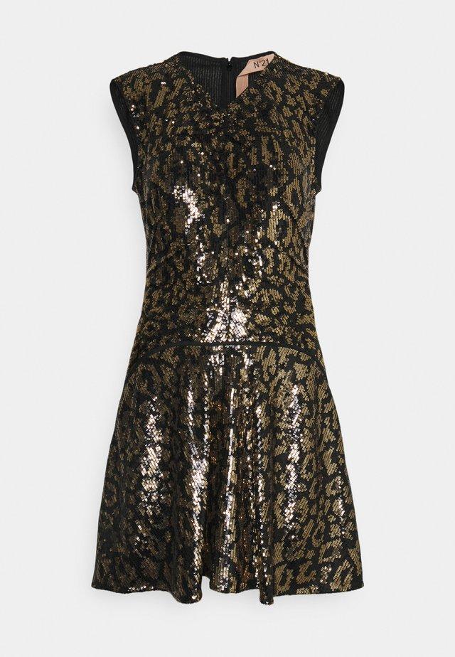 Cocktail dress / Party dress - nero giallo
