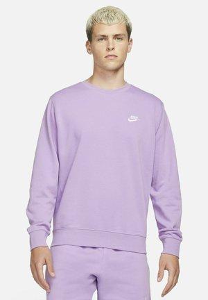 CLUB - Sweatshirts - violet star white