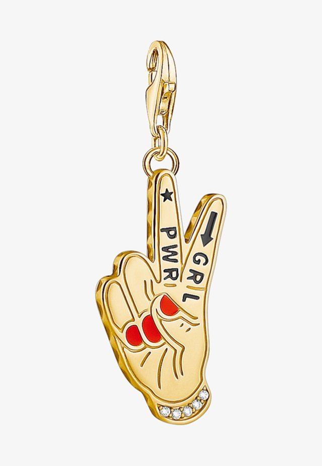 Hanger - gold coloured