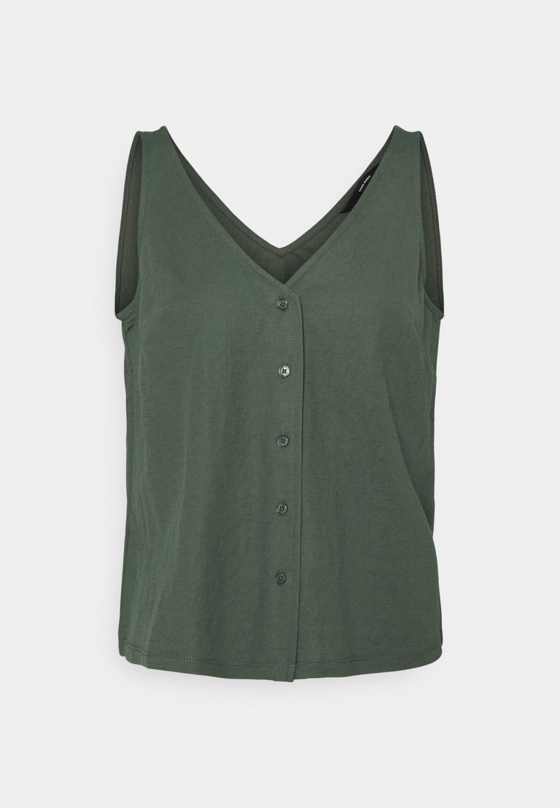 Vero Moda - VMGAELLE - Vest - laurel wreath