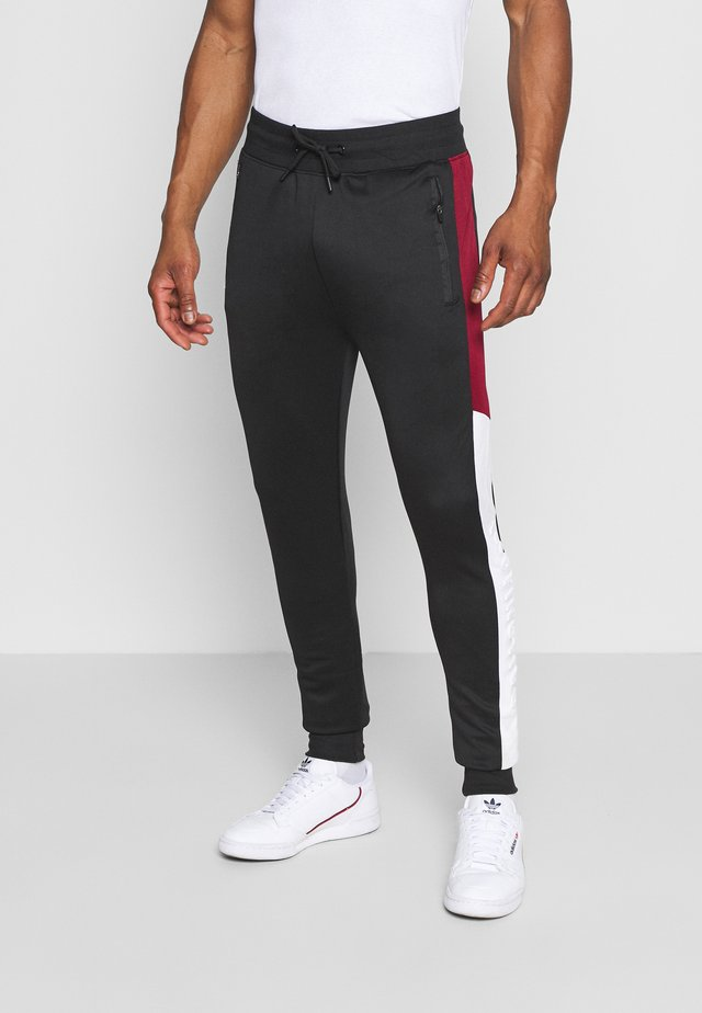 PACO - Pantalones deportivos - jet black