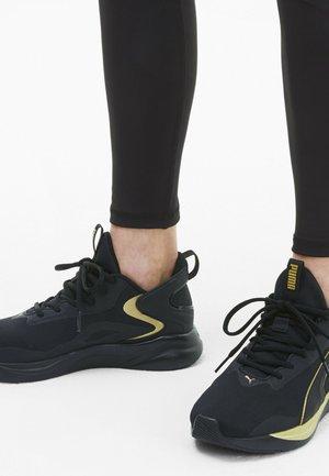 Neutral running shoes - black team gold