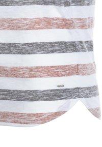 Solid - RUNDHALSSHIRT TET - Print T-shirt - orange - 3