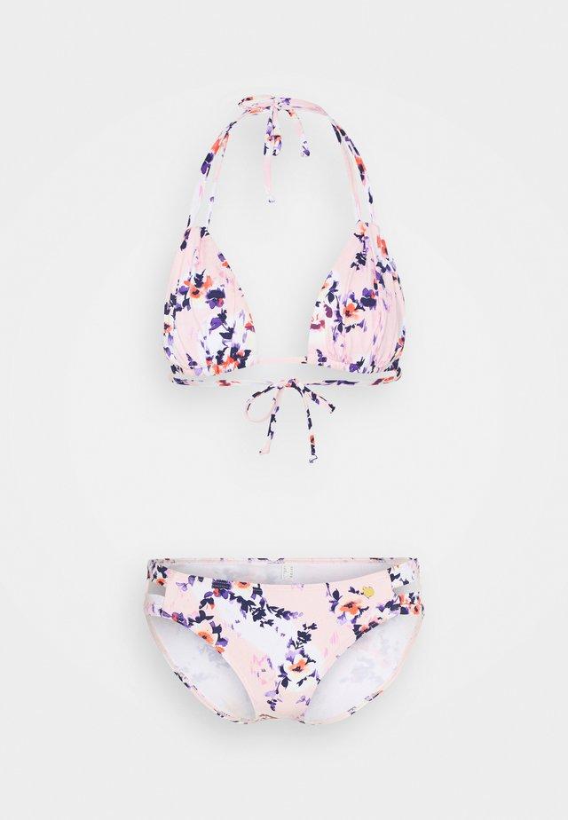 TRIANGLE SET - Bikini - rose