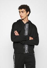 Just Cavalli - FELPA CON ZIP - Zip-up hoodie - black - 0