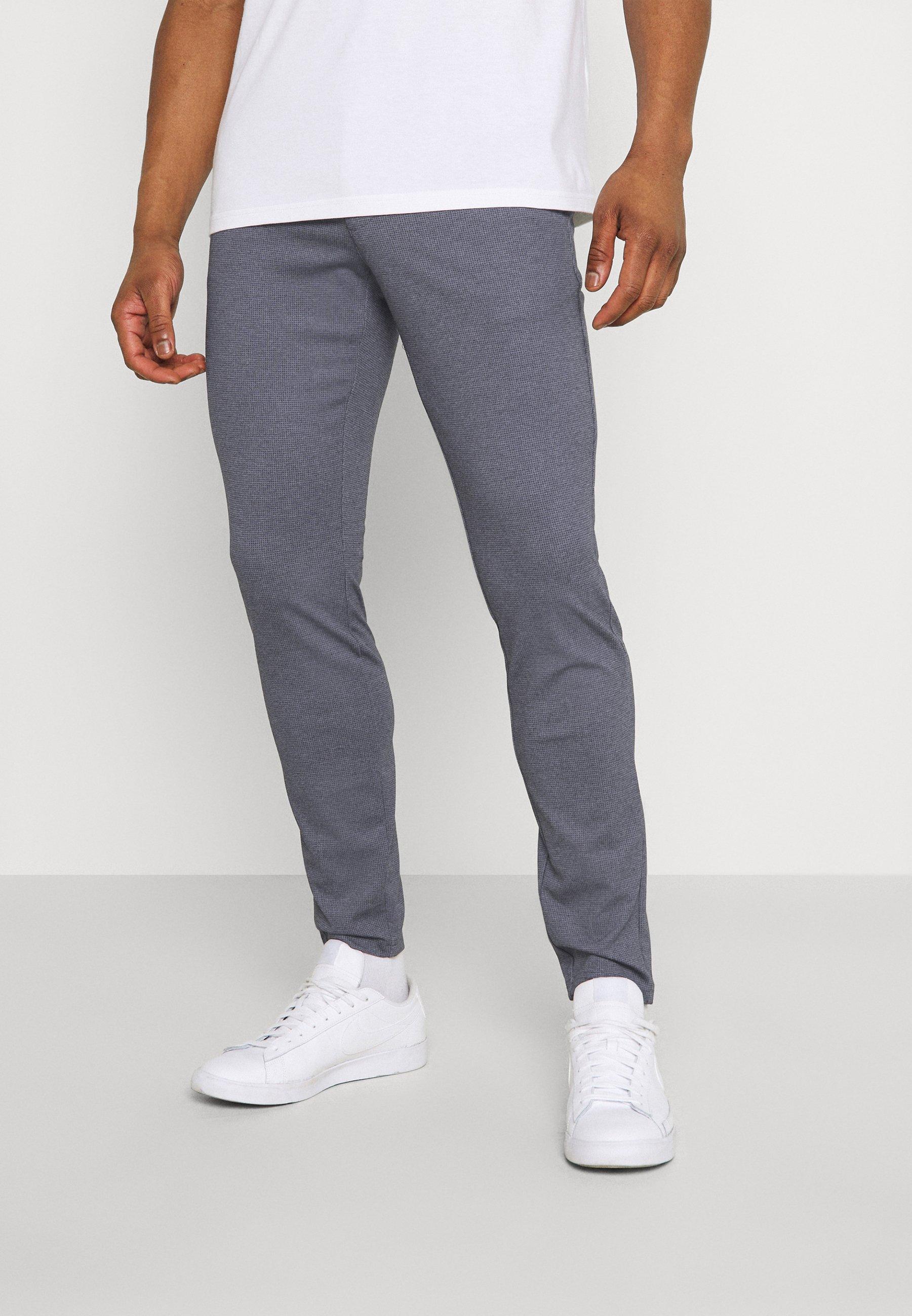 Men ONSMARK TAP PANT CHECK - Trousers