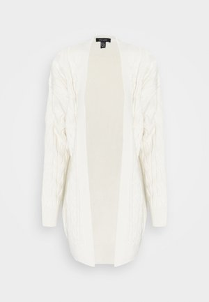 CABLE MIDI CARDIGAN - Neuletakki - off-white