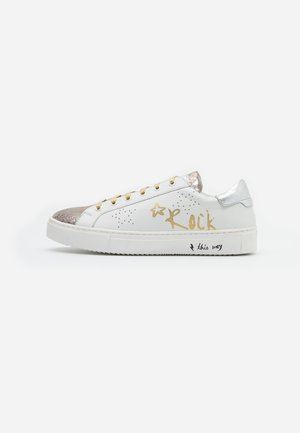 LULLABY - Sneakers laag - blanc/or