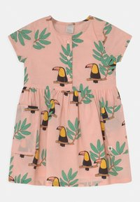 Lindex - MINI WOVEN TOUCAN - Shirt dress - light dusty coral - 0