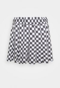 NEW girl ORDER - CHECKERBOARD SKIRT - Áčková sukně - black/white - 1