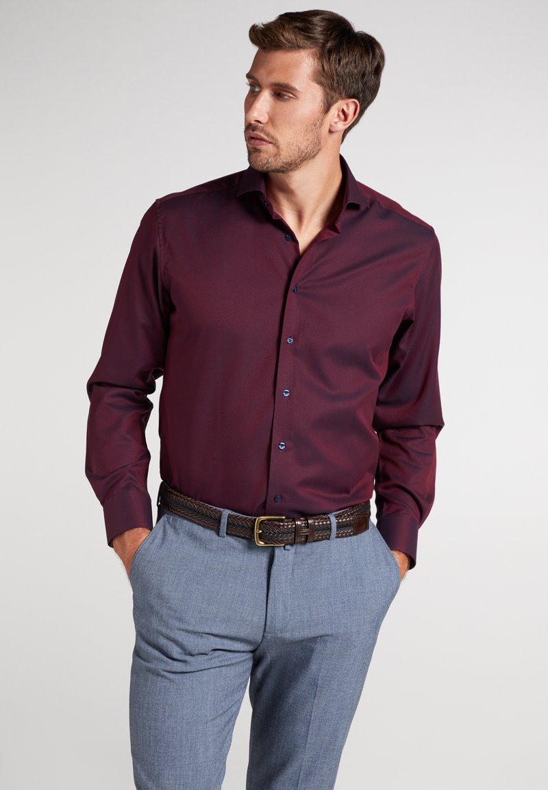 Eterna - MODERN FIT - Shirt - bordeaux