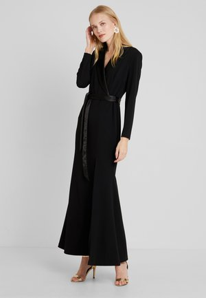 MERMAID GOWN WITH TIE - Iltapuku - black
