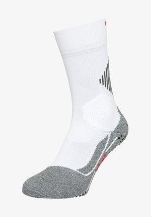 4 GRIP STABILIZING - Sports socks - white mix