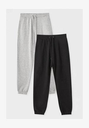 2 PACK - Træningsbukser - dark grey