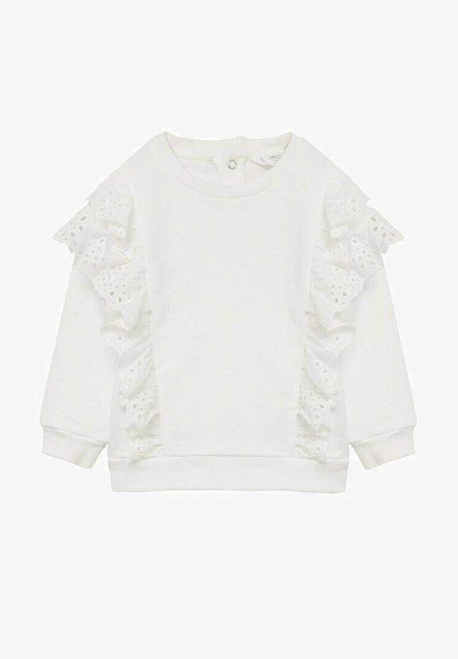 Mango - SUIZO - Sweatshirt - gebroken wit