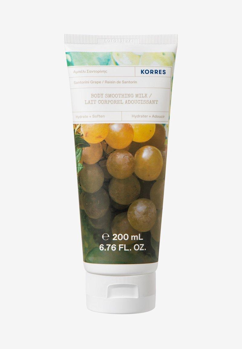 Korres - BODY SMOOTHING MILK SANTORINI GRAPE - Moisturiser - neutral