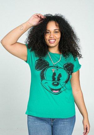 MICKY MAUS - Print T-shirt - green garden