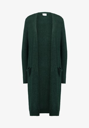 VIRIL LONG CARDIGAN  - Kardigan - pine grove/melange
