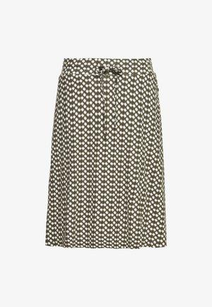 SKIRT PRINTED - Áčková sukně - khaki