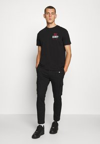 Diesel - T-JUST-N41 T-SHIRT - Camiseta estampada - black - 1