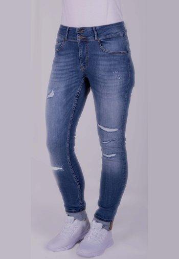 TUMMYLESS STRETCH - Slim fit jeans - blue