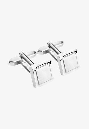 Cufflinks - silver-coloured