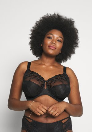 OLIVIA - Underwired bra - black