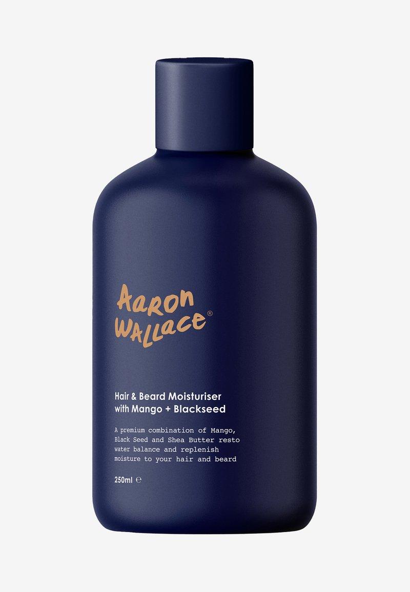 Aaron Wallace - HAIR & BEARD MOISTURISER WITH MANGO BUTTER + BLACKSEED OIL - Hair treatment - -