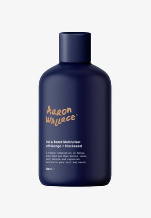 HAIR & BEARD MOISTURISER WITH MANGO BUTTER + BLACKSEED OIL - Pielęgnacja włosów - -