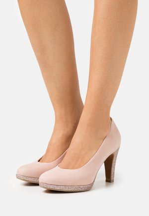 COURT SHOE - Zapatos altos - rose