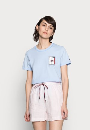 ONE PLANET - T-shirt con stampa - sweet blue