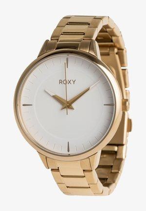 AVENUE  - Watch - full shiny gold