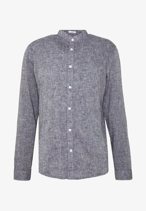 MANDARIN COLLAR SHIRT  - Košile - dark blue