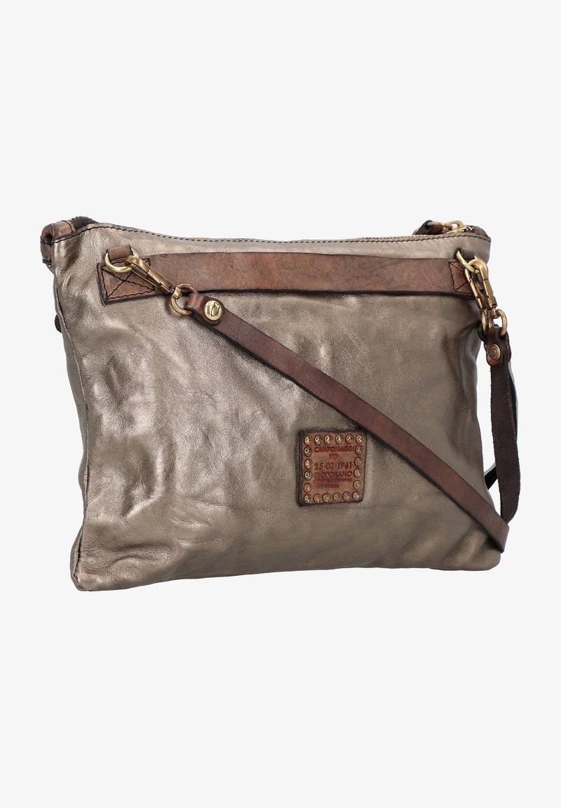Campomaggi - Across body bag - piombo-t/grigio