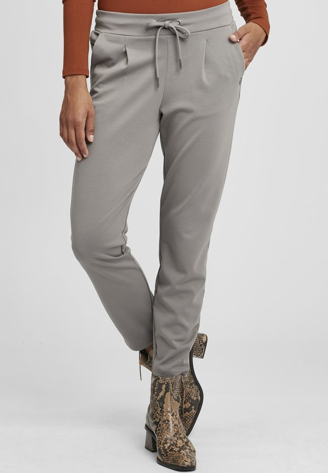 ANITA - Trousers - steel gray