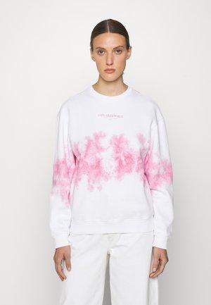 TIE DYE LOGO - Sweater - pastel pink